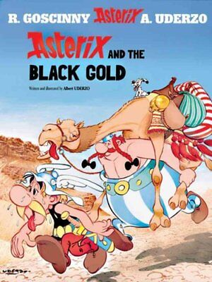 Asterix and the Black Gold by Albert Uderzo, Rene Goscinny (Hardback, 2001)