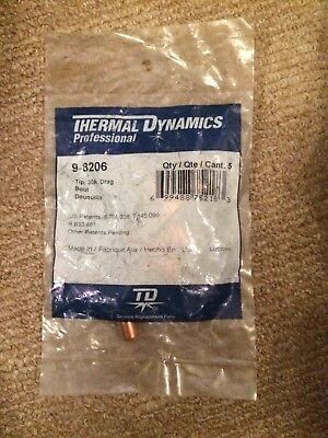 GENUINE 9-8206 Thermal Dynamics for SL60/SL100 Plasma Cutter Consumables