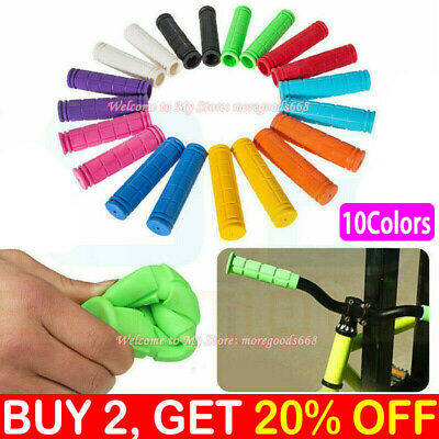 Soft BMX MTB Cycle Road Mountain Bicycle Scooter Bike Handle bar Grips Graden UK