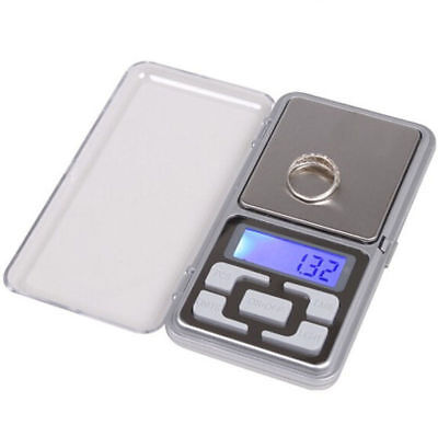 500g/0.1g Mini Digital LCD Electronic Jewelry Pocket Portable Weight Scale UP