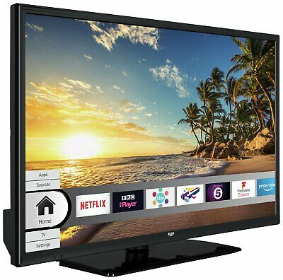 Bush 32 Inch HD Ready 720p Smart WiFi LED TV - Black.