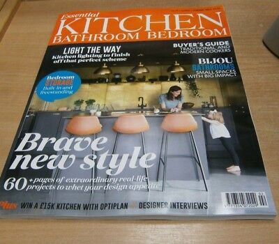 Essential Kitchen Bathroom Bedroom magazine FEB 2019 Tradition & Modern Cookers