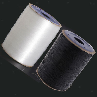 Stretch Elastic Beading Thread Cord Clear 650meters Jewellery Making 0.8mm
