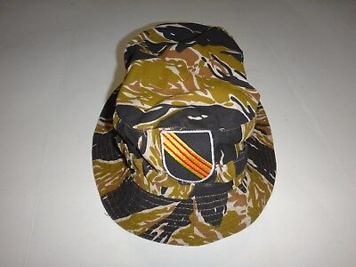 6495a785 Vietnam War US 5th Special Forces Group AIRBORNE Tiger Stripe Boonie Hat
