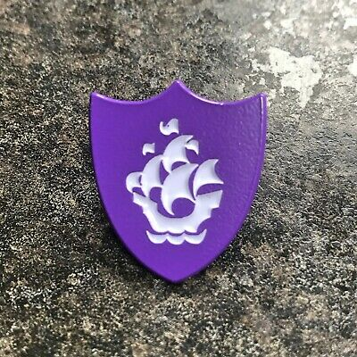 Blue Peter Purple Enamel Pin Badge | Novelty Childrens Bbc School Tv | Gift