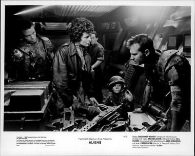 A scene from the film Alien. - Vintage photo