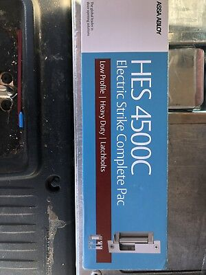 HES 4500C-630 Mortise Or Cylindrical Lock Electric Strike Complete Pack