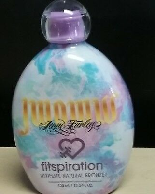 NEW 2019 JWOWW FITSPIRATION ULTIMATE NATURAL BRONZER 13.5 oz