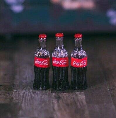 "Marvel Legends 1:12 6"" Scale Coca Cola Coke Bottle Miniature Prop"