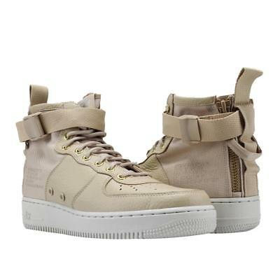 Nike AF-1 Urban Utility Goddess of Victory Leather High Tops Tan/Beige Mn 11 NEW