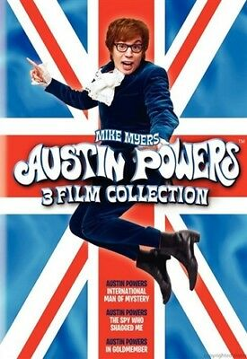AUSTIN POWERS 3-FILM COLLECTION New DVD Spy Who Shagged Me Goldmember