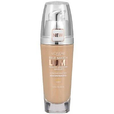 LOREAL True Match Lumi Healthy Luminous Makeup NUDE BEIGE W3 foundation