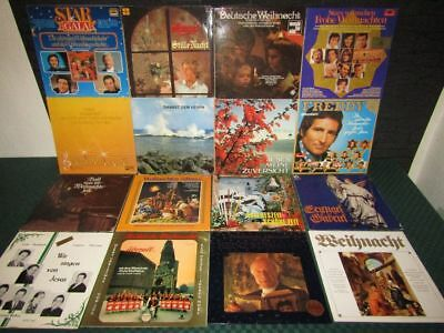 Weihnachten, Christmas: Schallplatten-Sammlung, Vinyl Collection - 46 LP's