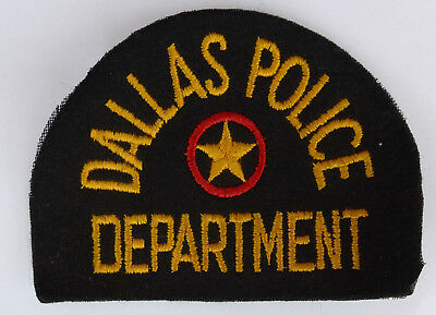 Patch --Dallas Police Department--