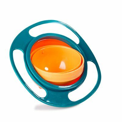 Baby Bowl Children Toddlers Eat Snacks Kids Non Spill Proof Food Plate Lunch Box