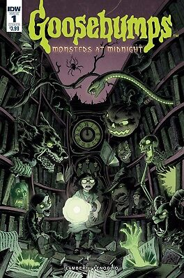 GOOSEBUMPS MONSTERS AT MIDNIGHT #1, COVER B, New, First Print, IDW (2017)