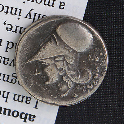 Rare -415 Tetradrachm Antique Metal Plated Ancient Greek Collectible Coins