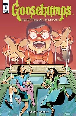 GOOSEBUMPS MONSTERS AT MIDNIGHT #1, COVER A, New, First Print, IDW (2017)