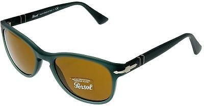 ea8524e2e3 Persol Film Noir Edition Sunglasses Women Green Black Round PO3098S 95 31