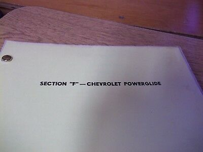 Auto Transmission Service Guide: Chevrolet Powerglide