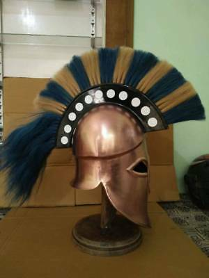 Greek Helmet Ancient Corinthian Helmet Roman Spartan Helmet Ancient Greece Gift