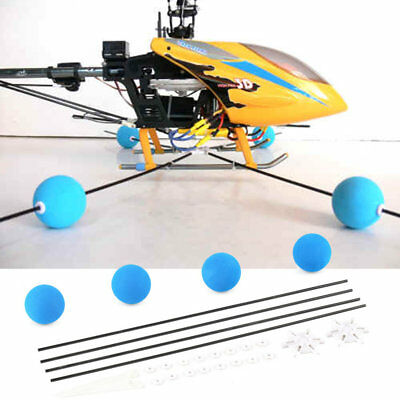 Training Gear Sponge Ball Kit For RC Walkera Trex Align 400 450 Helicopter LM