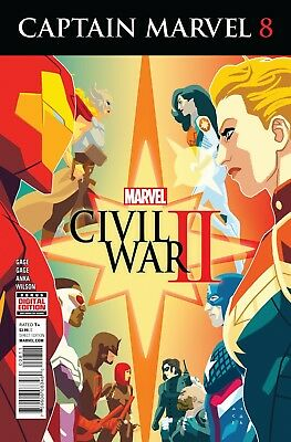 CAPTAIN MARVEL #8, New, First print, Marvel Comics (2016)