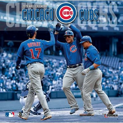 2019 Chicago Cubs Wall Calendar, Chicago Cubs by Turner Licensing