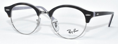 743331b77e8 New Authentic Ray Ban Eyeglasses Rb4246V 5240 Dk Tortoise silver purple 47- 19