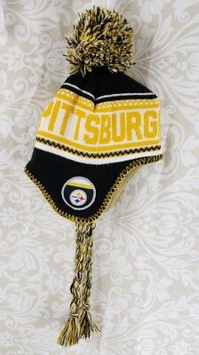 Pittsburgh Steelers NFL Toddler (2-4T) One Size Fits Most Winter Hat Cap 8b013b0ec