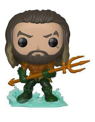 Funko 31177 Pop Heroes: Aquaman - Arthur Curry in Hero Suit Collectible Figure