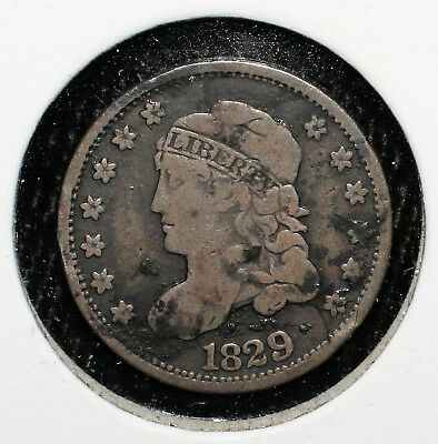 1829 Capped Bust Half Dime - 02504