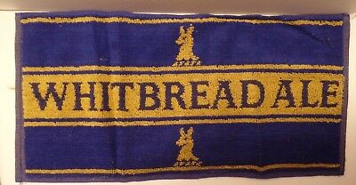 Whitbread Ale Authenic  English Bar Towel