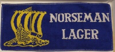 Norseman Lager Authentic English Bar Towel