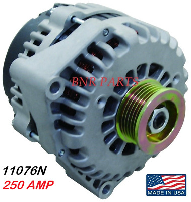 250 Amp 11076N Alternator Chevy Gmc High Output Hd Performance Made In Usa