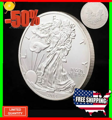 2018 sliver coin+1 oz Silver American Eagle Coins PROMOTED copied coins