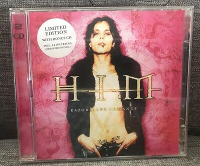 HIM Razorblade Romance 2CD *RARE* Limited Edition Bonus Disc VGC FAST POST