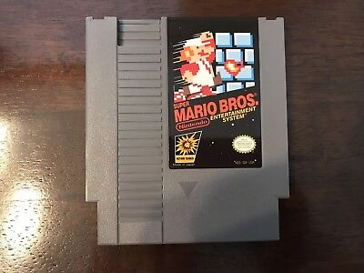 Nintendo Super Mario Bros. NES Game ~ Cleaned & Tested