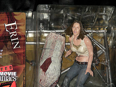 TEXAS CHAINSAW MASSACRE ERIN - Movie Maniacs Serie 7 Horror Figur McFarlane OVP