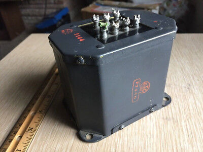 Vintage UTC 77440 Output Transformer USN military grade 6L6 807 tube circuit 30W