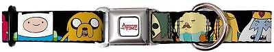 Adventure Time Animated TV Series Candy Collage Seatbelt Fun Pet Dog Cat Collar