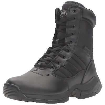 Magnum Tactical/Work Panther 8.0 Size Zip Leather & Nylon Boots - 7127