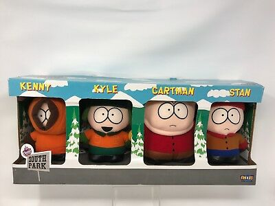 Vintage Fun 4 All Comedy Central South Park Kenny Kyle Cartman Stan New Old Stoc