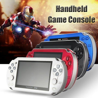 4GB 8GB 4.3 Inch Video Game Console Built In 2000 Games MP5 MP6 Players 4 Colors