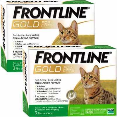 Frontline GOLD for Cats 12 MONTH
