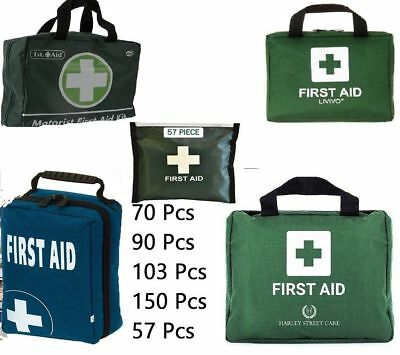103 90 70 150 57 Pcs Premium 1st First Aid Kit Box Emergency Medical Bag Compact