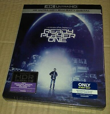 New Ready Player One 4K UHD + Blu-ray/Digital Steelbook Bestbuy Exclusive