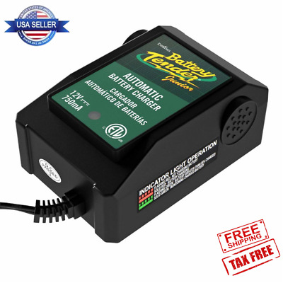 Automatic Battery Charger Automobiles Motorcycle ATV RV Boats Cart 12V 0.75A