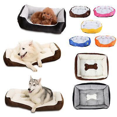 Pet Bed Cushion Dog Cat Warm Mat Soft Pad Nest For Crate House Indoor Outdoor