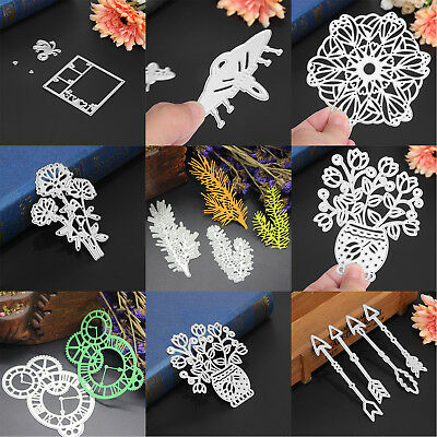 Metal Cutting Dies Stencil Scrapbook Album Paper Card Embossing Crafts DIY Decor